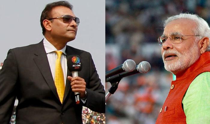 Ravi Shastri & Modi ji Commentry